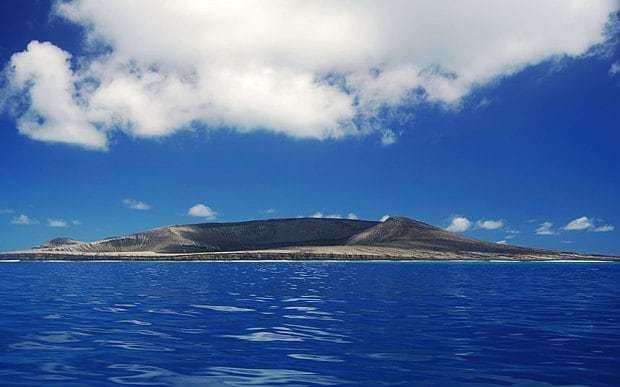 New Pacific island off Tonga is already 'disappearing' due to rain erosion