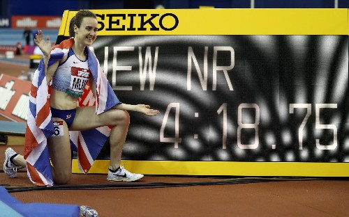 Holly Bradshaw and Laura Muir enjoy perfect European Indoors warm up with Birmingham success