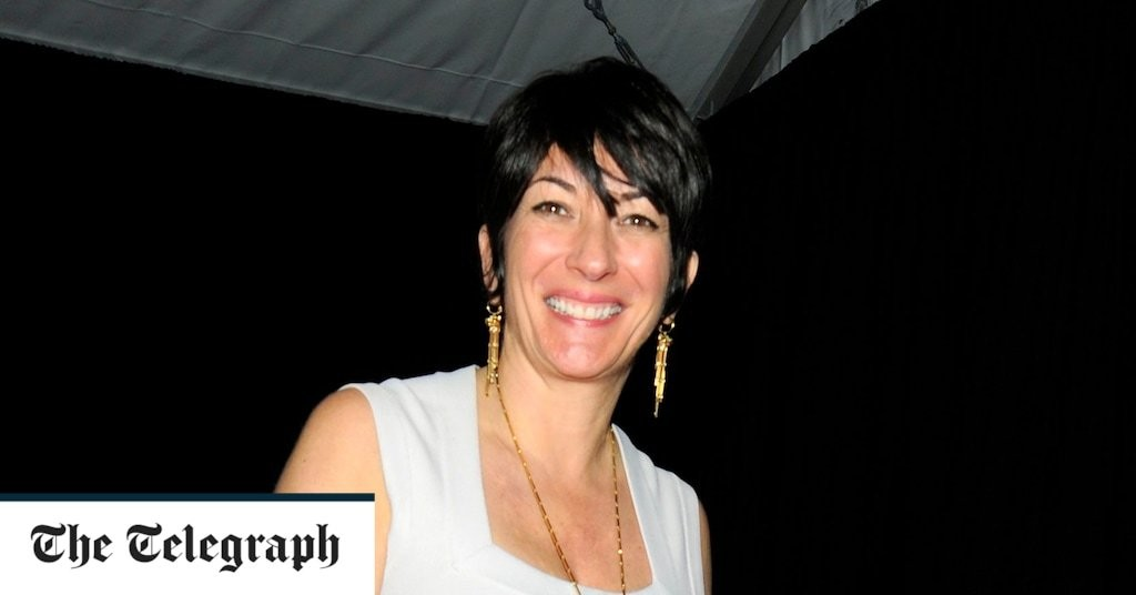 Ghislaine Maxwell's family launch operation to get her out of New York prison
