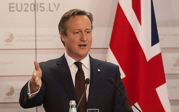 EU referendum question revealed by David Cameron