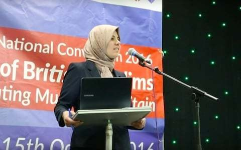 """Muslim Association of Britain elects first female president who vows to """"bridge gender disparity"""""""