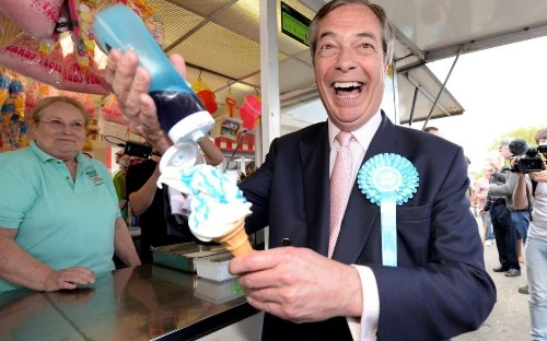Brexit Party now pulling in £100,000 donations a day as Nigel Farage mulls historic European election victory