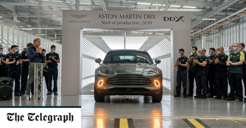Aston Martin finds cause for optimism as first DBX is produced in Wales