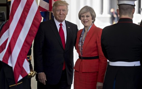 Donald Trump considering London visit to show solidarity after terror attack, report says