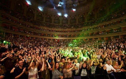 Hacienda Classical, Royal Albert Hall: 'when 5,000 old clubbers turned a recital into a rave'