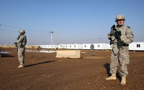 US and Britain to 'reduce troops' in Iraq under plan to defuse regional tensions
