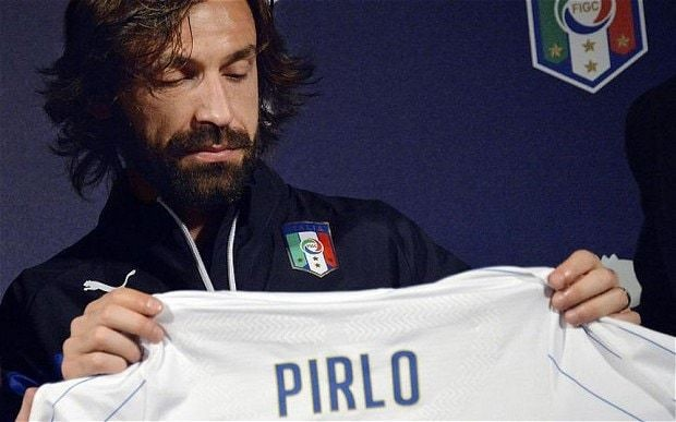 Italy's Andrea Pirlo is old, slow, rarely sprints and is just not the player he was – because he is even better