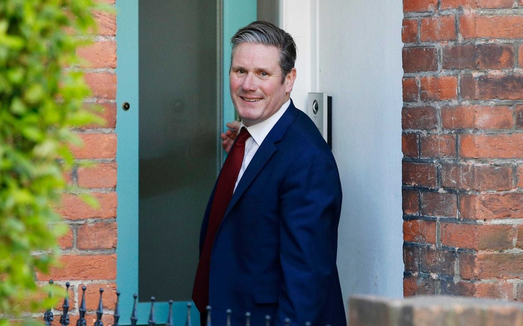 Sir Keir Starmer refuses to rule out forming a national government to steer the country through the coronavirus crisis