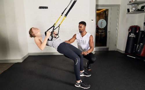 TRX: the simple nylon strap workout that burns fat in record time