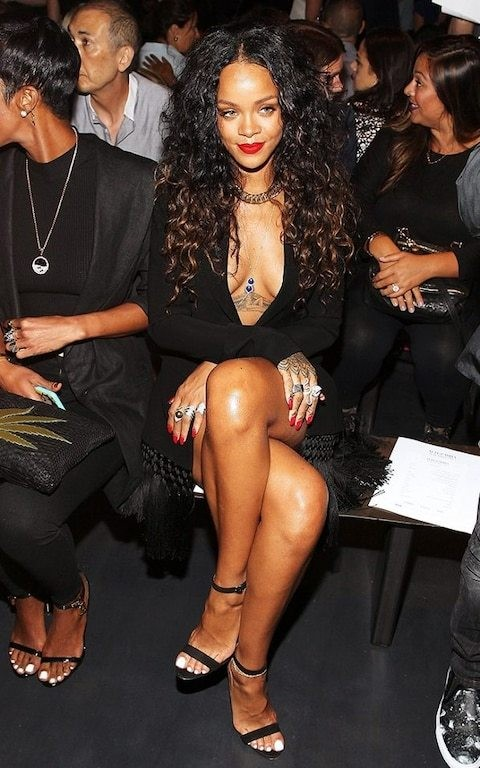 Rihanna's new collaboration with Manolo Blahnik is as flashy as you'd expect