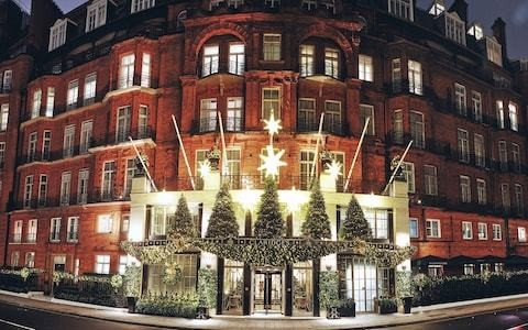From bauble-making to decadent Christmas stays, the seven luxury London hotels doing the festive season in style