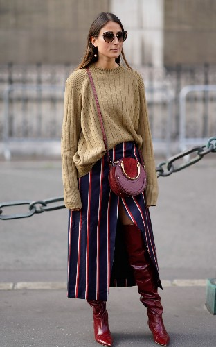 See what the street style set are wearing at Paris Fashion Week