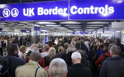 Revealed: Britain's borders left exposed as screening system crashed twice in 48 hours