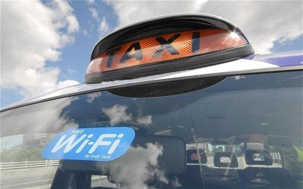 Wi-Fi enabled taxis to be flagged up to passengers