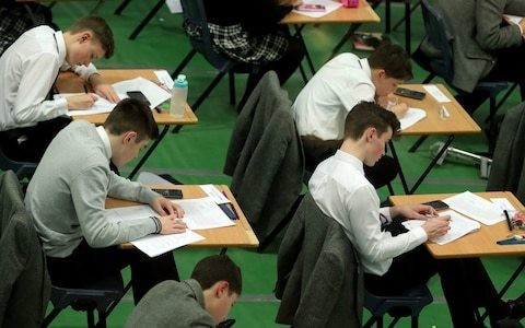 GCSEs belong in the Victorian era along with dunce caps, says head of Haberdashers Aske's