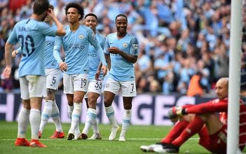 Manchester City's juggernaut flattened the underdogs on its emphatic Wembley victory lap
