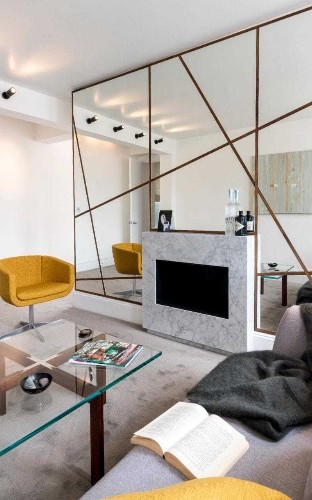 Geometric lines and yacht-like touches: the new interior design trends for men