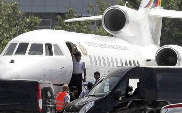 Russia criticises European states for 'unfriendly' diversion of Bolivian president Morales' plane