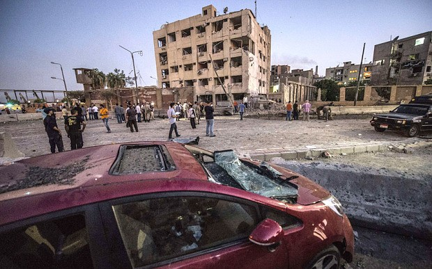 Islamic State claims Cairo courthouse bomb which wounded 29