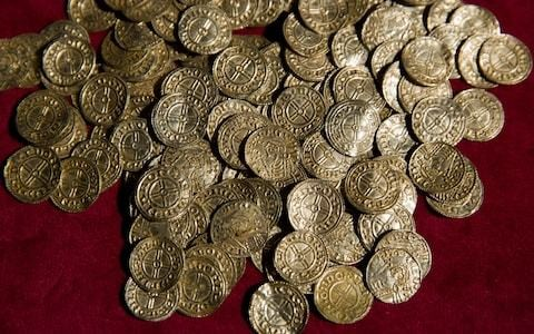 Metal detectorists accused of stealing £3m haul of Anglo Saxon coins and jewellery after finding it in field
