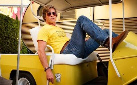 Once Upon a Time in Hollywood confirms that Brad Pitt has joined the HOF (Hot Over Fifty) club, and we're on board