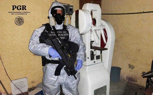 Mexican cartels create new border headache for Trump as they switch from cocaine to deadly synthetic drugs