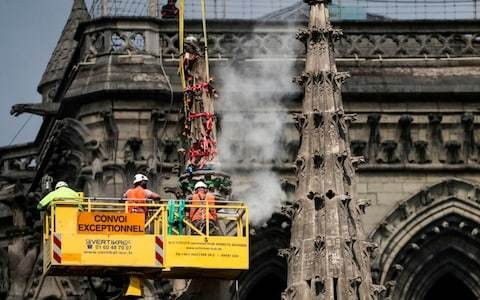 Staff cuts left Notre-Dame with only one watchman on duty when fire broke out, report says