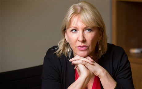 Nadine Dorries's fury over poor book review