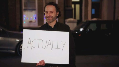 First trailer for Comic Relief's Love Actually reunion sees Andrew Lincoln with those famous white cards
