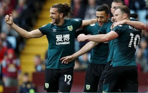 Aston Villa let lead slip twice against Burnley to stay in relegation zone
