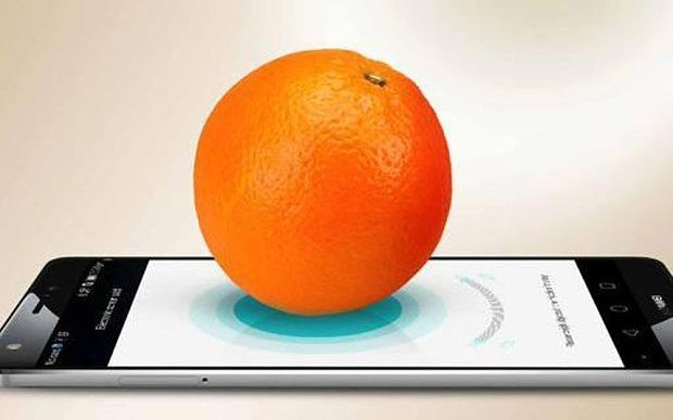 Huawei weighs orange on Mate S smartphone screen using 'Force Touch'