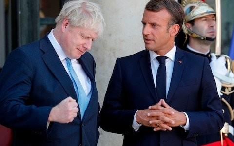 Emmanuel Macron has continually played bad cop at Brexit. Now he could be Boris Johnson's unlikely ally