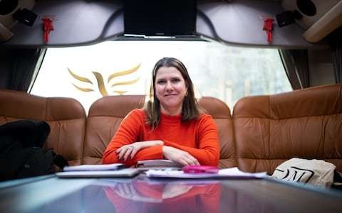 Is Jo Swinson living in a parallel universe? This election is a choice between Boris and Corbyn
