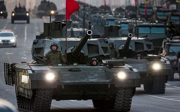 Russia 'dominated' global defence budget increases in 2015, says think tank