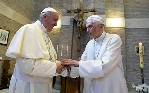 Forget celibacy – the real problem for the Catholic church is that it has two leaders