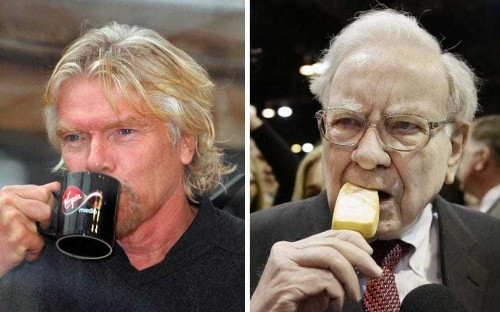 Ice cream for breakfast and Coke all day: the extreme eating habits of billionaires