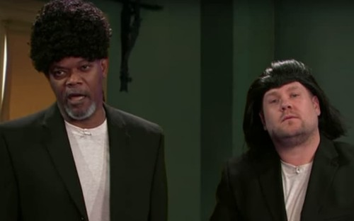 Samuel L Jackson performs most iconic roles in hilarious James Corden sketch