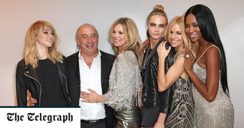 Sir Philip Green's retail empire Arcadia collapses into administration