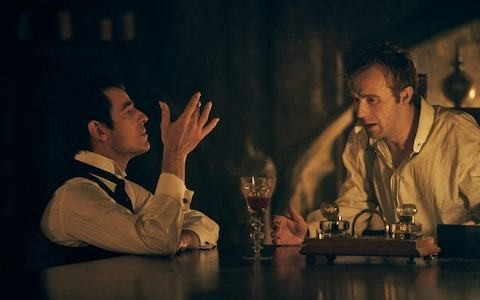 New BBC horror suggests Dracula did more than bite his male victims