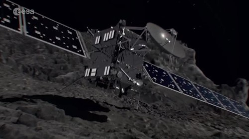 Rosetta space mission ends as probe collides into comet