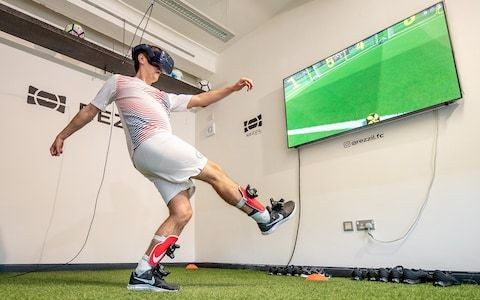How Premier League footballers train in virtual reality - welcome to the future (and present) of coaching and analysis