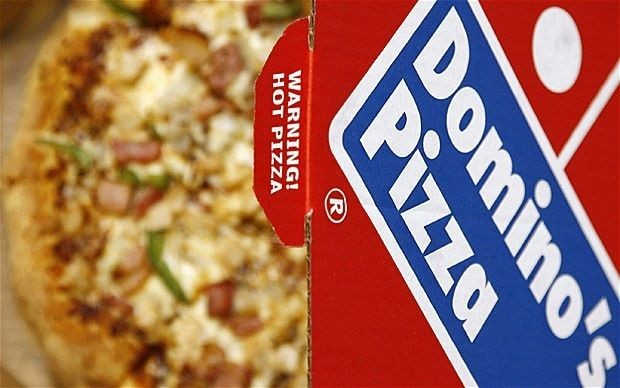 Domino's Pizza stuffed with good news