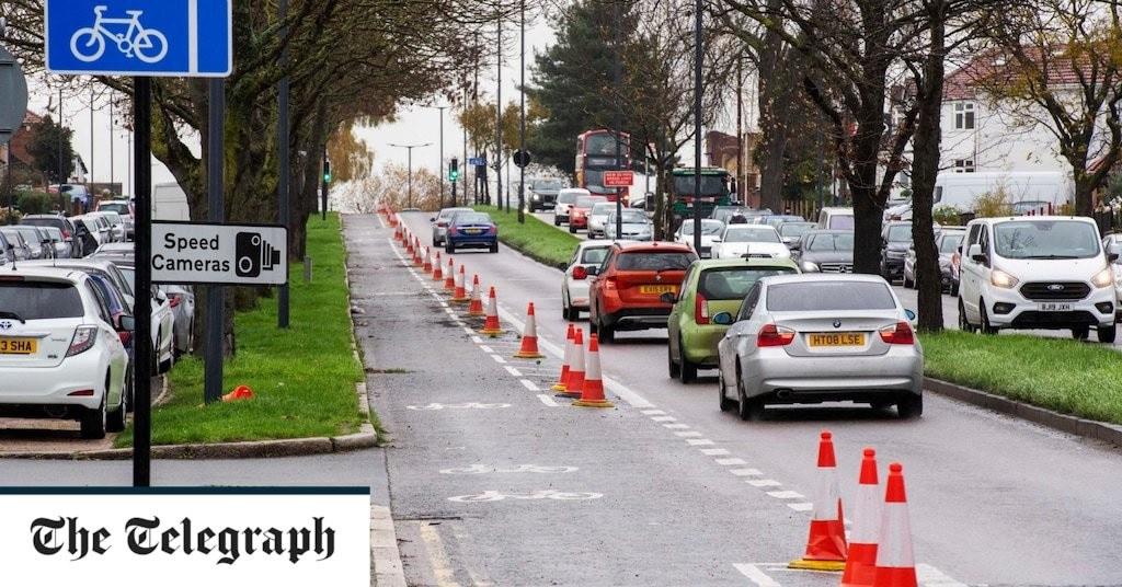 Exclusive: Cyclists shun roads designed to be bike friendly in £250m scheme