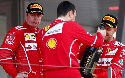 Sebastian Vettel delivers victory for Ferrari at Monaco GP as Kimi Raikkonen rages