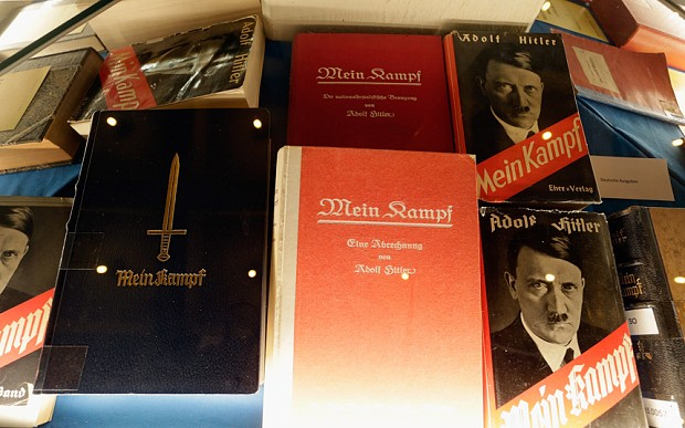 Hitler's Mein Kampf sells out instantly after being published in Germany for first time in 70 years