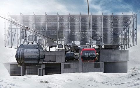 Sölden's new ski lift might just be the greatest ever