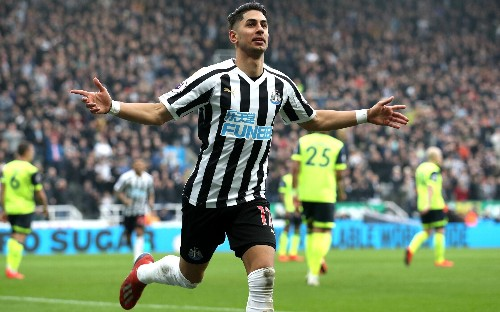 Newcastle brush aside 10-man Huddersfield as Salomon Rondon and Ayoze Perez give St James' cause to sing