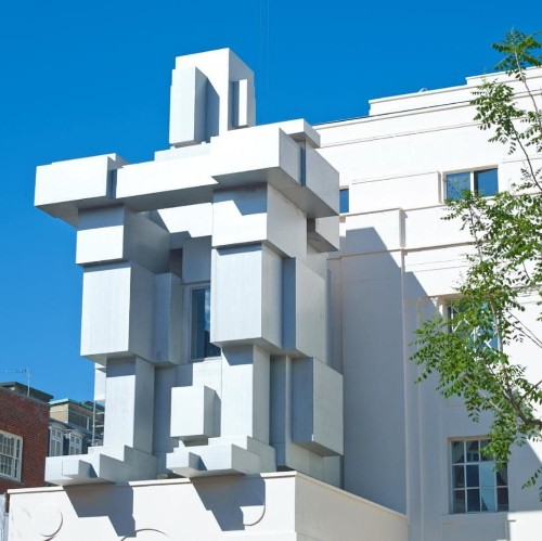 The sculpture that is also London's strangest hotel suite