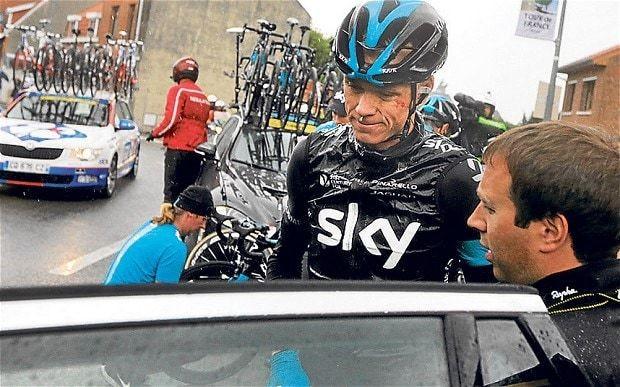 Sir Dave Brailsford defiant as defending champion Chris Froome quits Tour de France