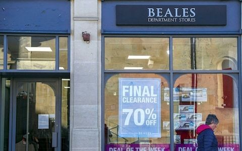 Beales falls into administration with 1,000 jobs at risk